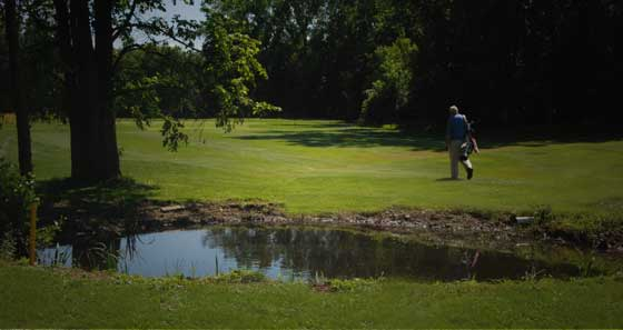 relaxing golf course utica ny
